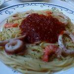 スパゲティハウス - 海の幸のトマトソースパスタ