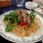 スパゲティハウス - ライブの日のパスタ