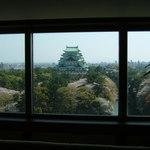 ザ ウエスティン ナゴヤ キャッスル - サロンスイートからの名古屋城