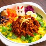Cafe 豆うさぎ - テイクアウト ポークキーマカレー