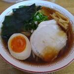 らー麺 ふじもと - 料理写真:魚介醤油ラーメン