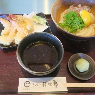讃岐屋 雅次郎 - 料理写真:海老天ひやつけ