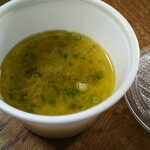 ORIBE - 結局なんのスープだったのか?美味しかったです♪