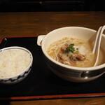 沖縄食堂チャンプル×チャンプル - ソーキそば定食(税別980円)
