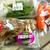 真庭市場 - 料理写真:「吉備高原舞茸」「雪の下人参」「アイスプラント」