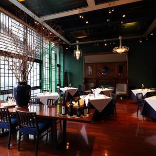 恵比寿の路地裏にひっそりと佇むイタリアンレストラン。