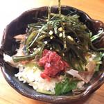 津軽煮干中華蕎麦 サムライブギー - 料理写真:梅昆布飯
