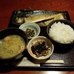新潟・佐渡島 両津港直送 土風炉  - 焼魚定食。