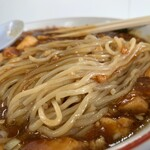 味好 - マーボメン 麺アップ