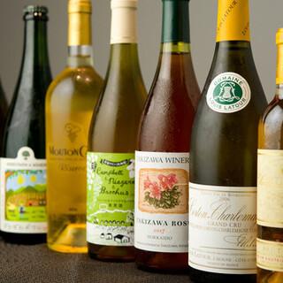 グラスからワインペアリング◇ボトルワイン