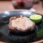 鳥茂 - 椎茸の肉詰め