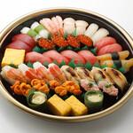 板前寿司  - 松4-5人前