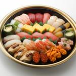 板前寿司  - 松3-4人前