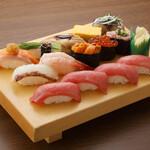 板前寿司  - テイクアウト選抜極上にぎりセット