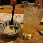 炭火焼鳥 きち蔵 - 豆腐 & ハイボール