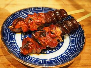 炭火焼鳥 きち蔵 - 淡海地鶏 肝セット(肝、背肝、脾臓)