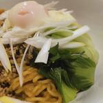 雁川 - ♦︎汁なし坦々麺 ¥980 (追い飯セット・杏仁豆腐付き)