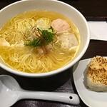 Menyakaijin - あら炊き塩らぁめん