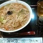 つる岡 - サンマー麺