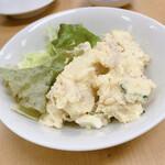 129445440 - 【2020年01月】自家製ポテトサラダ@420円。