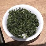 麺と心 7 - 焼きバラ海苔ご飯(雲丹つけ麺の〆飯)
