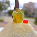 ムッシムパネン - 何気に和菓子なトッピング
