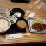 ろくまる五元豚 - 味噌カツ定食