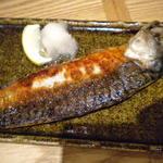 ろくまる五元豚 - 焼き魚定食の鯖文化干し