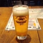 12945722 - お約束の生ビール