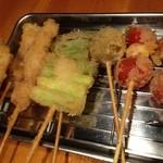 Tenkushinishioka - 串揚
