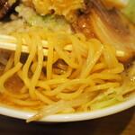 麺屋うしまる - 麺アップ
