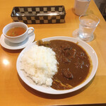 129459349 - 国産黒毛和牛カレー  スープ付  1,300円(税込)