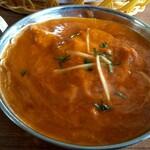 ミトチャカリー - 日替りのカボチャ&チキン カレー