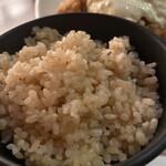 海遊山楽 ゆう - 料理写真:玄米