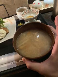 海遊山楽 ゆう - 圧倒的味噌汁