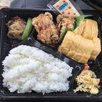 亀の子 - 料理写真:唐揚げ卵焼き弁当500円