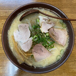 新進亭 - 白味噌ラーメン 720円