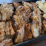 骨付豚 弌歩 - 料理写真:豚重の大盛り