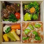 おかやまの味藤ひろ - 和牛ほほ肉やわらか煮弁当