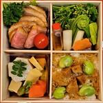 おかやまの味藤ひろ - 鴨ロースうま煮弁当