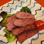 おかやまの味藤ひろ - 和牛ヒレ肉ステーキ