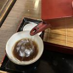 翁庵 - ツユが美味くて蕎麦湯も美味い