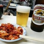 権兵衛 - とりまっ、ビールとキムチ