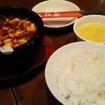 陳家私菜 - 料理写真:ランチの麻婆豆腐(夜)