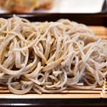 舞扇 - 【野菜かき揚げせいろ@1,000円】蕎麦
