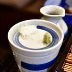 舞扇 - 【野菜かき揚げせいろ@1,000円】薬味