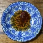鉄なべ - タレと辣油