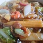 満洲飯店 - 広東麺アップ