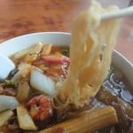 満洲飯店 - 広東麺 麺リフト