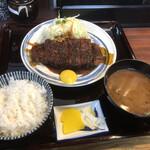 129480783 - 味噌とんかつ定食(並)